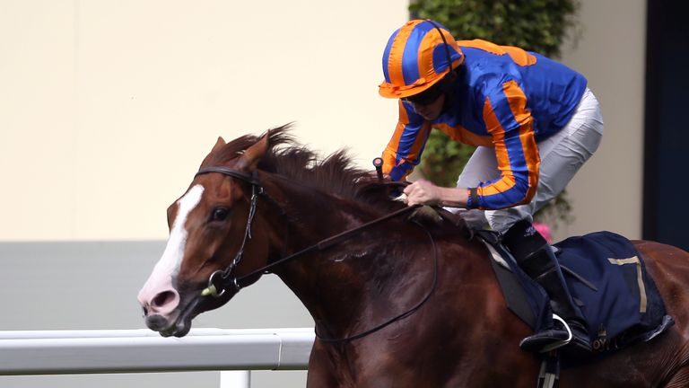 Love wins the Prince of Wales's Stakes at Royal Ascot