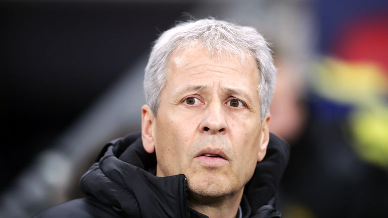 Crystal Palace are considering former Borussia Dortmund manager Lucien Favre