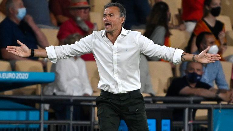 Luis Enrique estableció un récord decepcionante durante el empate 0-0 de España con Suecia