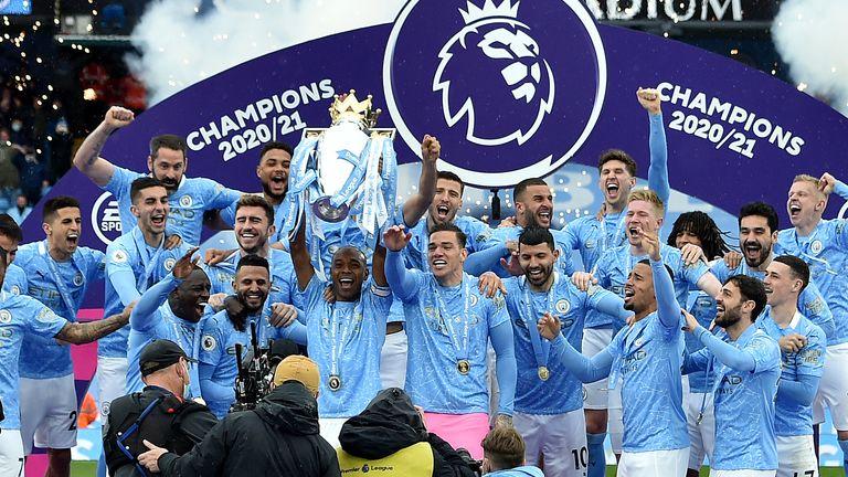 Manchester City Premier League winners 2020-21
