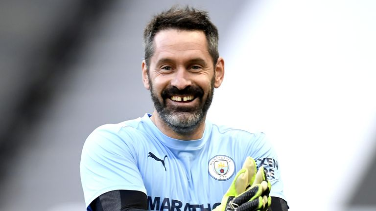 Manchester City goalkeeper Scott Carson has been speaking about the importance of being a positive male role model