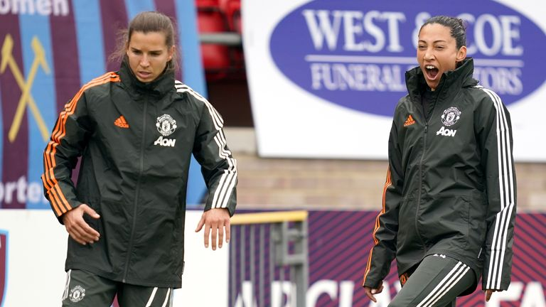 US World Cup winners Tobin Heath and Christen Press have left Manchester United after just one season at the club