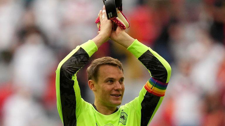 Germany goalkeeper Manuel Neuer (AP)