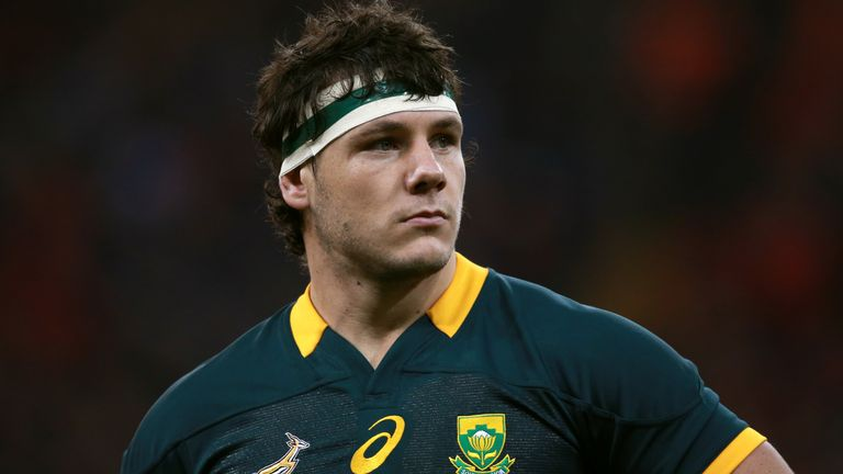 Marcell Coetzee has played 30 Tests for the Springboks