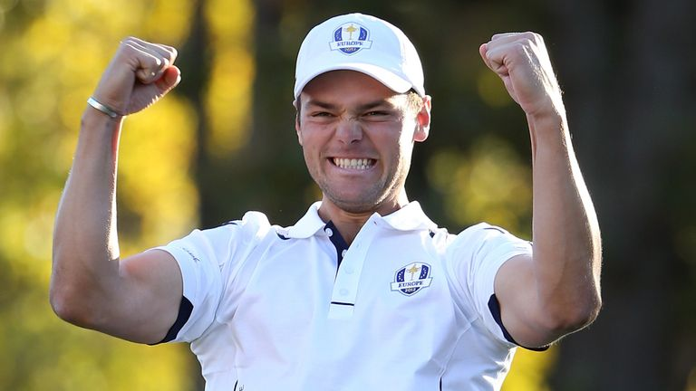 Kaymer famously holed the putt that sealed one of the most famous comebacks in sport at the Miracle of Medinah in 2012