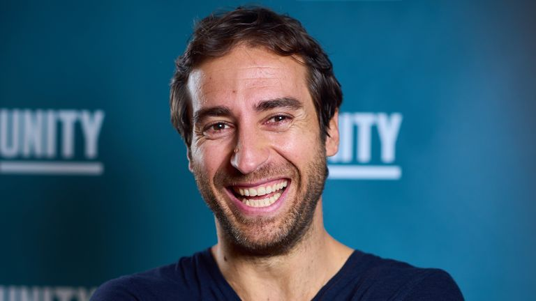Unity founder and former Arsenal midfielder Mathieu Flamini
