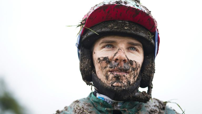 Micheal Nolan broke his T5 and T6 vertebrae in a fall at Southwell on Monday