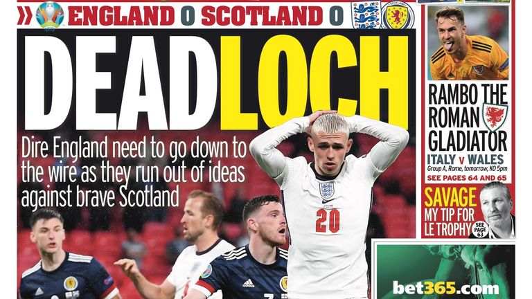Mirror Sport back page