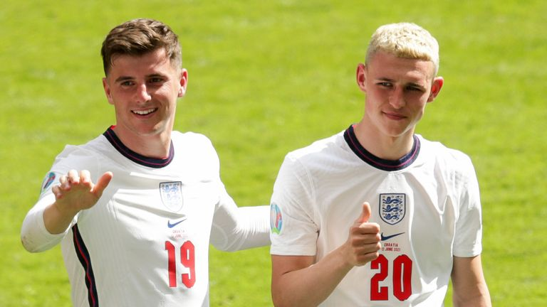 Phil Foden likely to start and Mason Mount in serious contention for  England vs Germany | Football News | Sky Sports