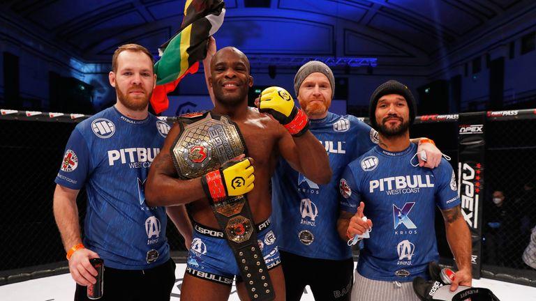 Nathias Frederick MMA Cage Warriors