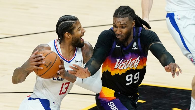 Highlights of the second game in the Western Conference final between the LA Clippers and the Phoenix Suns.