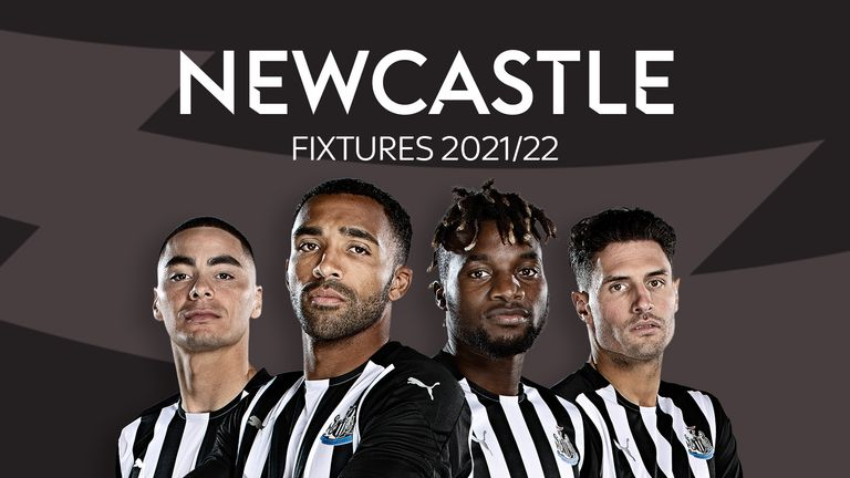 Newcastle Fixtures 2021/22