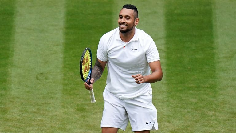 Kyrgios produced a superb display to defeat the No.21 seed on his Grand Slam return