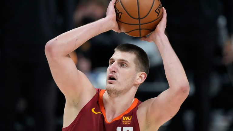 Nikola Jokic has been included in the 2020-21 All-NBA first-team
