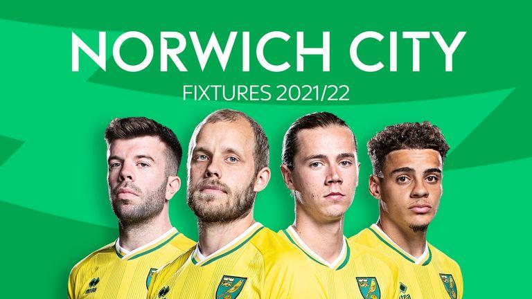 Norwich City Fixtures 2021/22