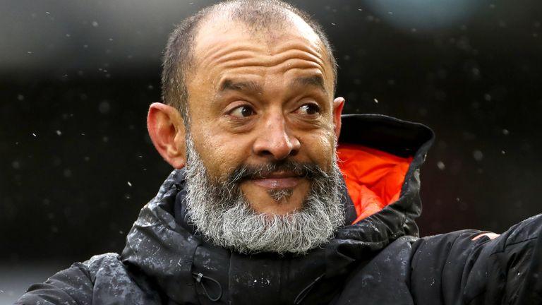 Nuno Espirito Santo left Wolves at the end of the season (PA)