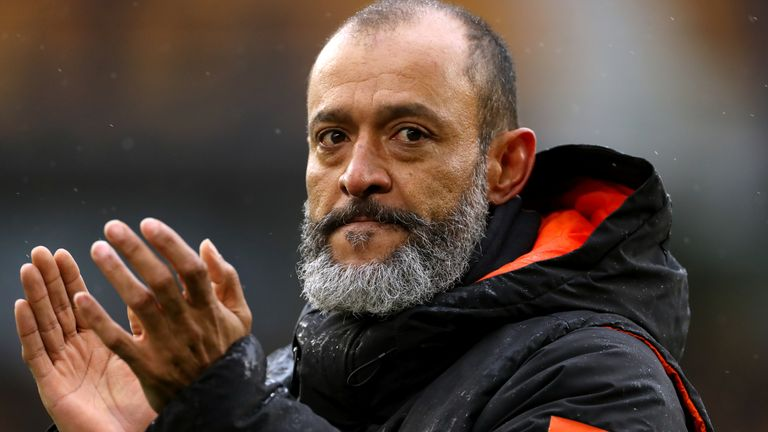 Nuno Espirito Santo was on the verge of being appointed as Palace's new boss