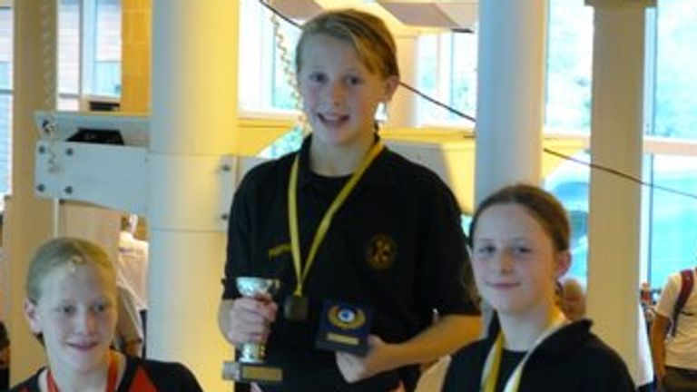 Siobhan-Marie O'Connor started swimming at a young age