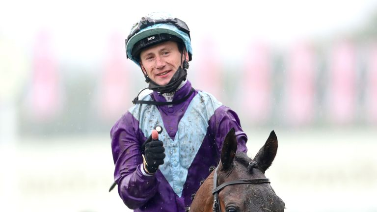 Oisin Murphy after victory on Alcohol Free in the Coronation Stakes at Royal Ascot