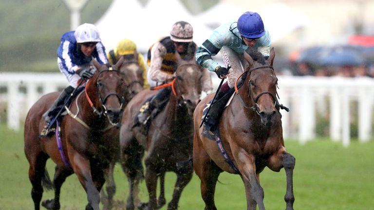 Oisin Murphy wins the Duke of Edinburgh Stakes at Royal Ascot on Quickthorn