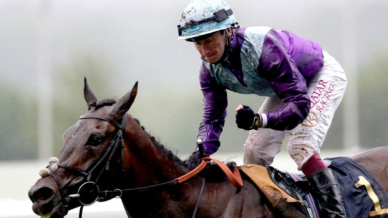 Oisin Murphy rides Alcohol Free to victory in the Coronation Stakes at Royal Ascot