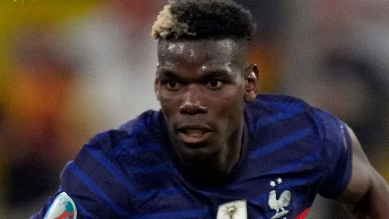Paul Pogba was named man of the match as France beat Germany 1-0 in Euro 2020 on Tuesday