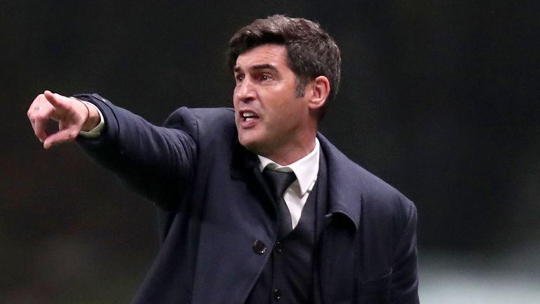 Paulo Fonseca has been named as Tottenham's new head coach
