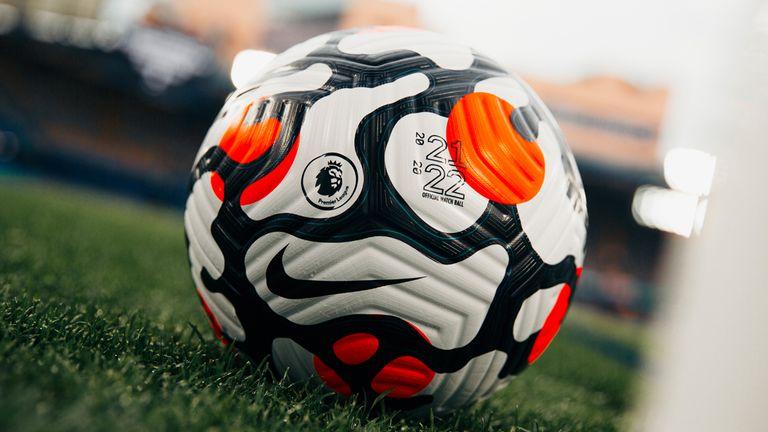 New Premier League ball 21/22
