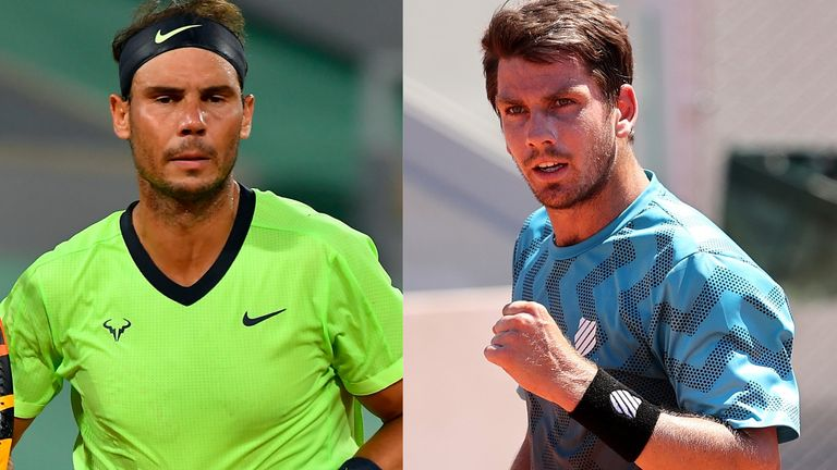 French Open: Cam Norrie admits facing Rafael Nadal at Roland Garros is the
