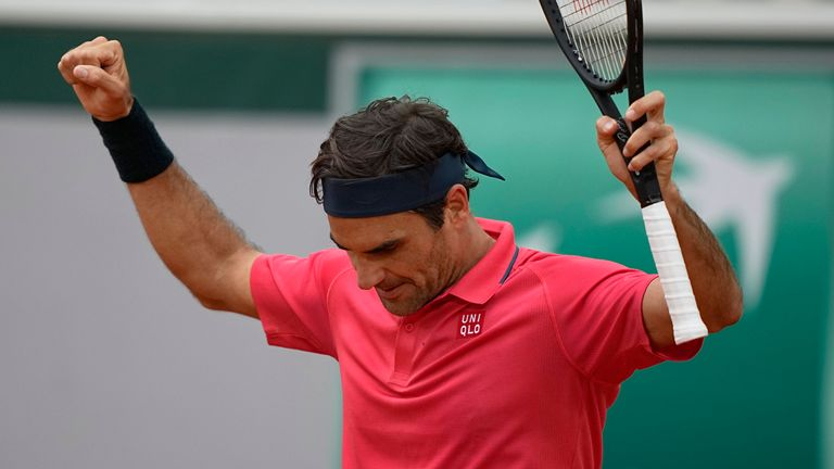 French Open 2021: Roger Federer and Novak Djokovic victorious in second-round
