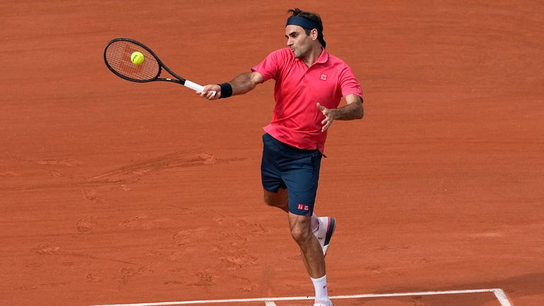 The eighth seed finished the match with 47 winners to his name (AP Photo/Michel Euler)