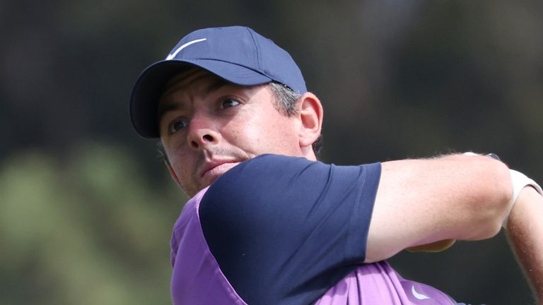 US Open: Rory McIlroy and Bryson DeChambeau just two off the lead after third