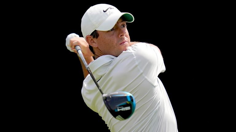 Rory McIlroy explains how he's trying to take pressure off himself at major championship, ahead of searching for a first major title since 2014 at the US Open.