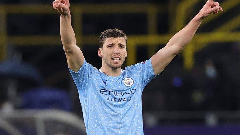Ruben Dias has been named the Premier League Player of the Season