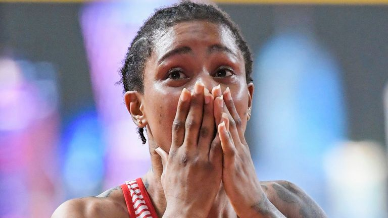 Salwa Eid Naser will miss competing in the Olympics for Bahrain this summer