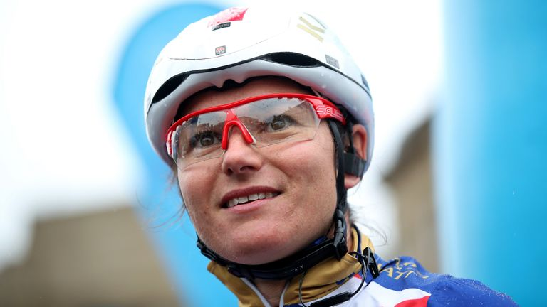 Dame Sarah Storey said staying patient was key for her during the race