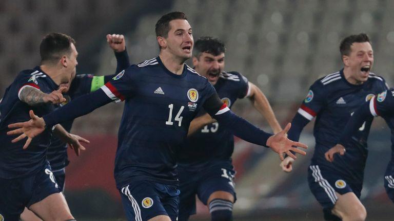 La confianza de Escocia se ha disparado desde que el equipo se clasificó para la Euro 2020, su primer gran torneo en 23 años.
