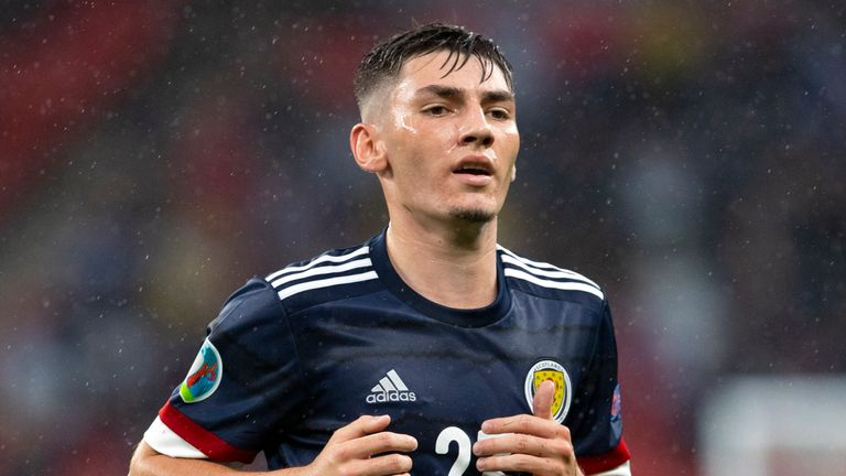 Billy Gilmour burst onto the international scene during Euro 2020, producing a man-of-the-match performance for Scotland against England