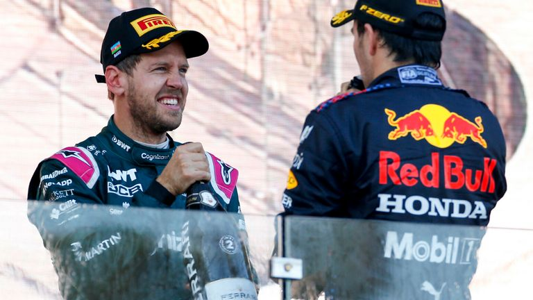 Azerbaijan GP Driver Ratings: The surprise podium stars after Lewis Hamilton and Max Verstappen woe