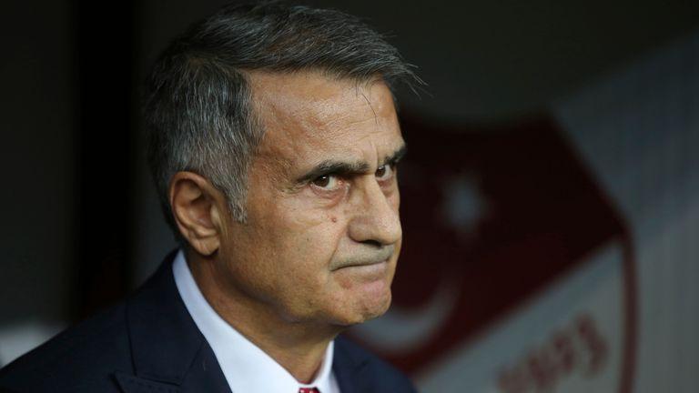 Turkey national team manager Senol Gunes