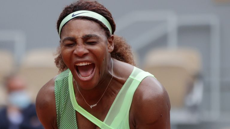 French Open: Serena Williams sails through at Roland Garros after straight-sets