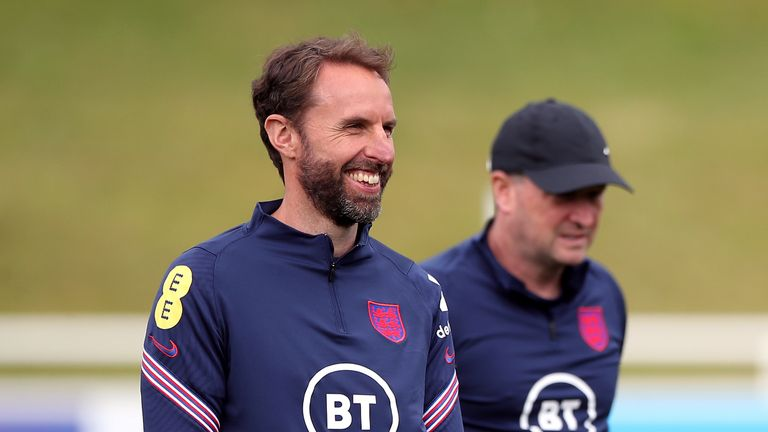England manager Gareth Southgate has urged his players to go long at times