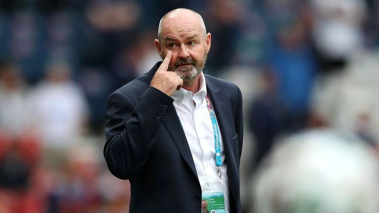 Steve Clarke prepares his side to take on England at Wembley on Friday