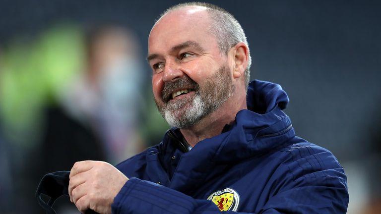 Scotland head coach Steve Clarke (PA)