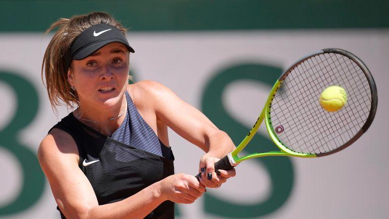 Elina Svitolina is a three-time Roland Garros quarter-finalist