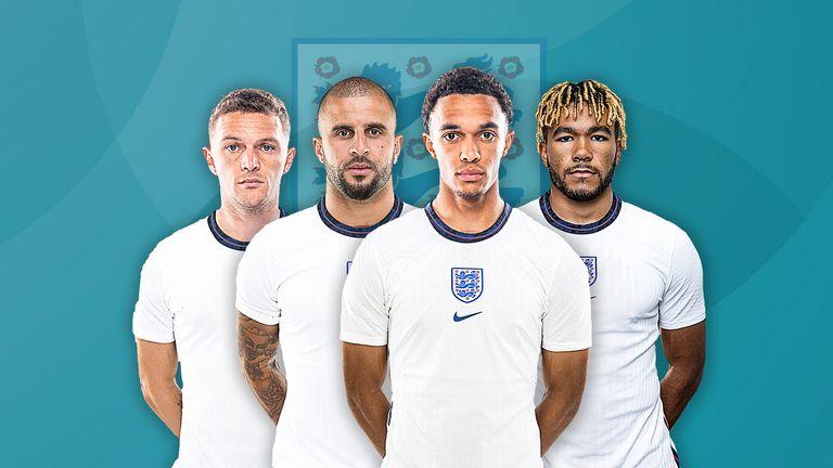 England right-backs