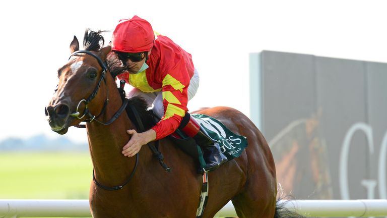 Group One winner Thunder Moon heads for the St James's Palace Stakes on Tuesday