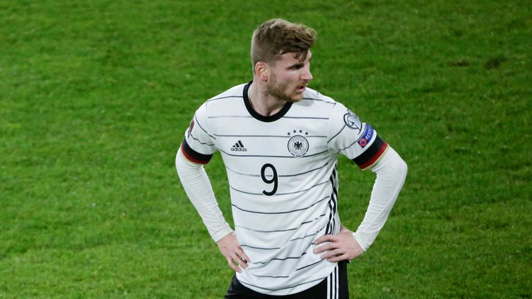 Will Timo Werner find his shooting boots for Germany?