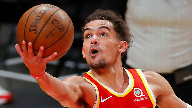 All eyes will be on Trae Young's availability after he exited Game 3 with an ankle issue