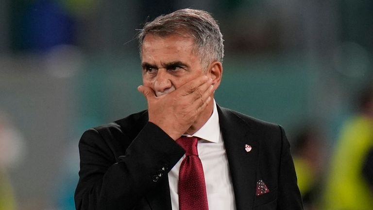 """Turkey boss Senol Gunes admits the game against Wales is a """"final"""" after the heavy defeat to Italy"""